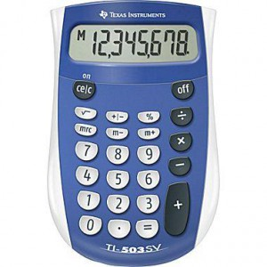 Texas Instruments Calculator - 503SV