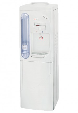 Elekta Hot & Cold Water Dispenser with Refrigerator and Cup Storage EWD-623RC(T) - Freezer and Refrigerator