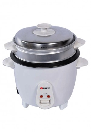 Elekta 1L Drum Rice Cooker with Steamer ERC-101MKII