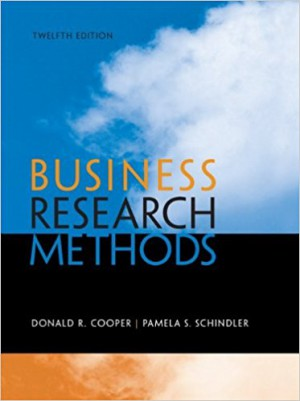 Business Research Methods, 12th Edition (Irwin Statistics)