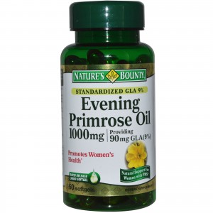 Nature's Bounty, Evening Primrose Oil, 1000 mg, 60 Softgels