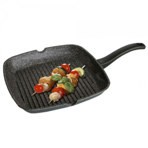 Stoneline Square Griddle with 2 lips WX 7907
