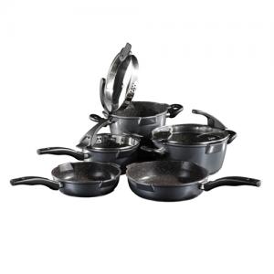 Stoneline future 8pc cookware set, 20/24 pan WX 14344