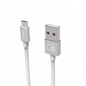 Adam Elements Micro USB Cable 120 cm - Silver