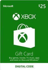 Xbox $25 virtual