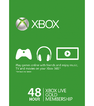 XBOX LIVE US/EU GOLD 48 HOUR  SUBSCRIPTION
