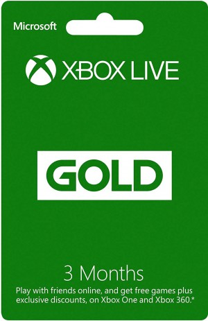 XBOX LIVE US/EU GOLD 3M MONTH SUBSCRIPTION 90 days