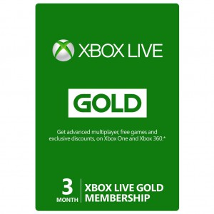 Xbox Live Gold 3 Months Subscription [US/EU]