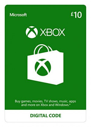 Xbox 10 pound virtual