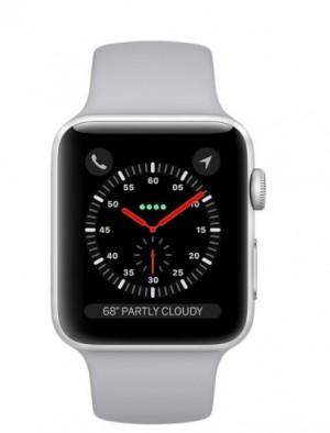 Apple Watch S3 GPS 42mm Silver Aluminium Case with Fog Sport Band - AP1MQL02