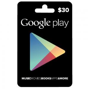 Google $30 virtual