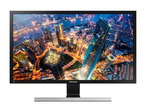 "Samsung 24"" UHD Monitor With Premium Metallic Stand - LU24E590DS/UE"