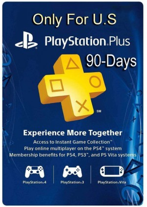 PlayStation 3 Month subscription  psn usa  90 days