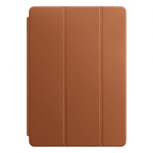 "Apple - Leather Smart Cover 10.5"" iPad Pro Saddle Brown - AP2MPU92"