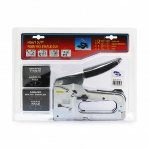 Heavy Duty Four Way Staple Gun
