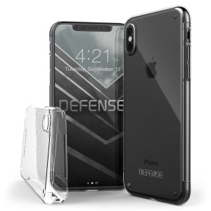 X-Doria Defense 360 Glass Case Full Cover for iPhone X