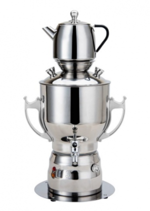 Orca Samovar Stainless Steel Kettle