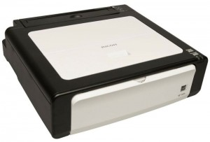 Ricoh Aficio SP100 e Black and White Laser Printer
