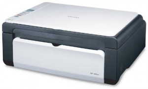 Ricoh Aficio SP 100SU Black and White Laser Printer (Print/Scan/Copy)