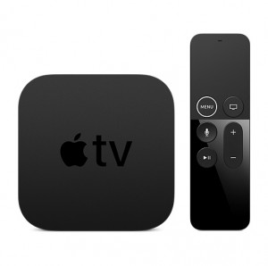 Apple TV 4K 32GB - Black - MQD22