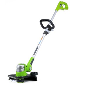 GreenWorks G-24 24V 12-Inch Cordless String Trimmer , Battery Not Included, 2100302