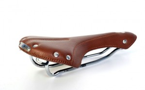 Bike Leather Saddle