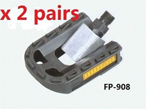 FP-908 bike Folding pedal 9/16 bicycle pedals 2 pairs by priority mail shipping