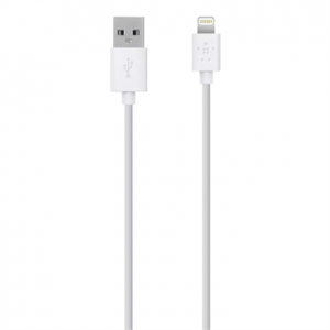 Belkin Mixit Lightning to USB Cable 1.2M/4FT - White