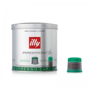 illy Regular Flavors - Decaffeinated 21 Capsules