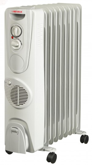 Nevica 9 Fins Oil Heater - NV-309OH-F