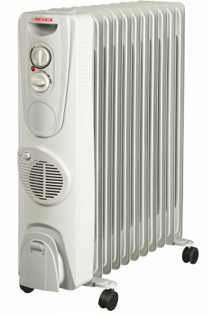 Nevica 11 Fins Oil Heater - NV-311OH-F