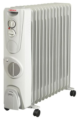 Nevica 13 Fins Oil Heater - NV-313OH-F