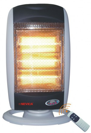 Nevica Halogen Heater With Remote Control - NV-59RHR