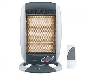 Sonashi Halogen Heater With Remote Control - SHH-1000R