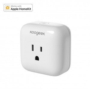 Koogeek Smart Plug, WiFi Socket Outlet for Apple HomeKit with Siri, Electronics Controller on 2.4GHz Network