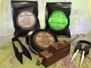 Coil Tool gift set,TexasTuff QuickWix,Coil Jig,Ceramic Tweezer,NI80,Kanthal,316L