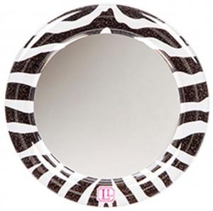 Darice LockerLookz Locker Mirror - Zebra - 1 Piece