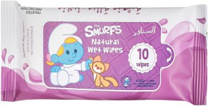 The Smurf - Natural Wet Wipes - Lavender