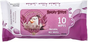 Angry bird - Natural Wet Wipes - Lavender