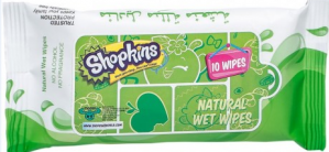 Shopkins - Natural Wet Wipes - Green