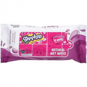 Shopkins - Natural Wet Wipes - Lavender