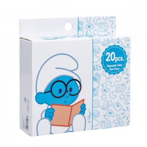 The Smurf - Box of 20 Disposable Toilet Seat Covers