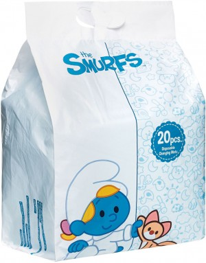 The Smurf - Box of 20 Disposable Changing Mats