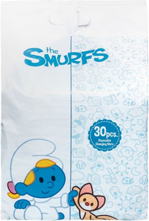 The Smurf - Box of 30 Disposable Changing Mats