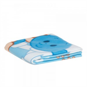 The Smurf - Polar Fleece Blanket 76x102cm - Light Blue