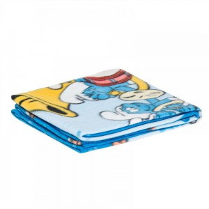 The Smurf - Polar Fleece Blanket 76x102cm - LaLa Land - Blue