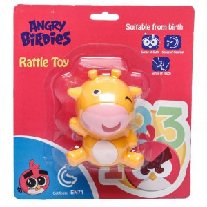 Angry Birds - Rattle Toy - Cow
