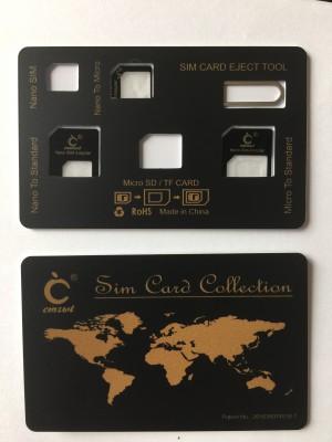 Paroparoshop Sim Card Collection - Black