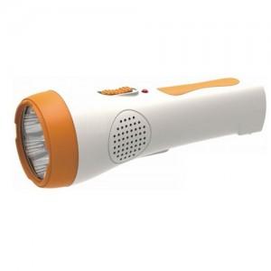 Orca Rechargeable 7pcs 8LED light/FM radio - OR-9075RDL