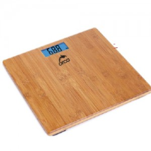 Orca Elec Scale,Bamboo Platform,180Kg